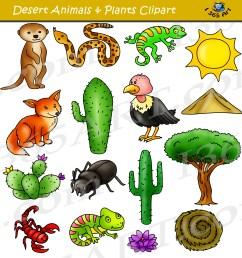 desert clipart set desert animals terrain [ 1800 x 1876 Pixel ]