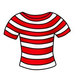 t shirt clipart free striped shirt clip art [ 1800 x 1800 Pixel ]