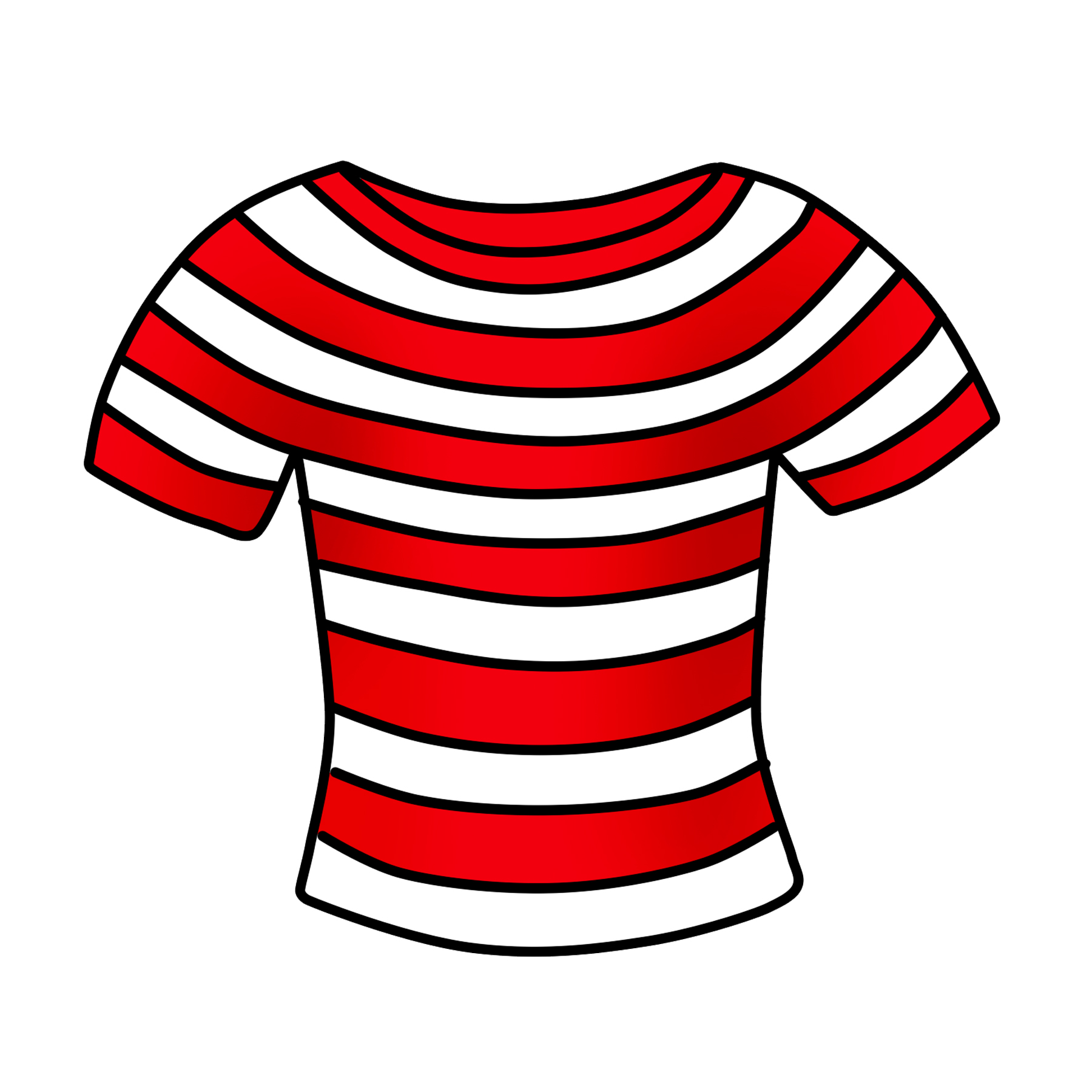 hight resolution of t shirt clipart free striped shirt clip art