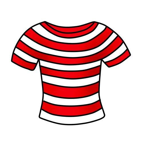 small resolution of t shirt clipart free striped shirt clip art