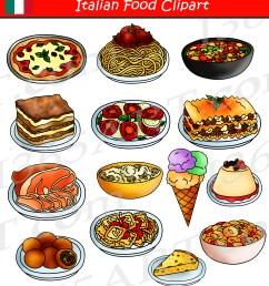 italian food clipart [ 1800 x 1997 Pixel ]