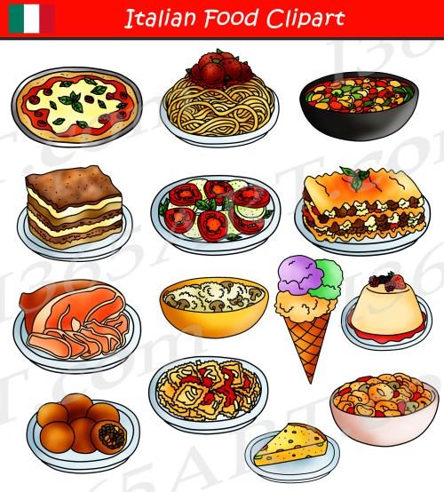 small resolution of italian food clipart