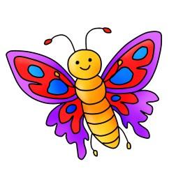 free butterfly clipart [ 1800 x 1800 Pixel ]