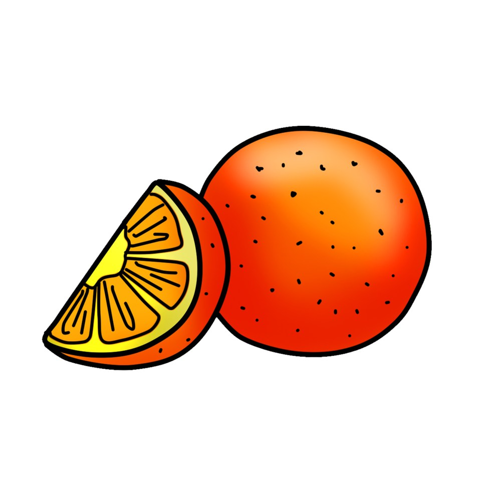 medium resolution of orange clipart