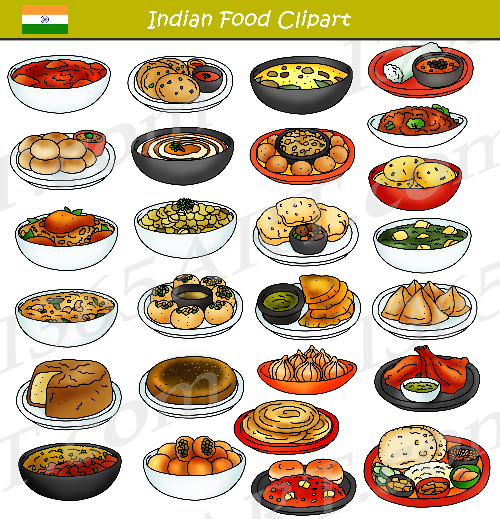 hight resolution of clipart indian