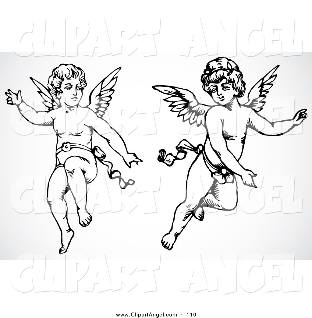 Royalty Free Stock Angel Designs Of Design Elements