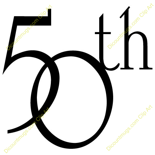 Library of free clipart transparent download happy 50th