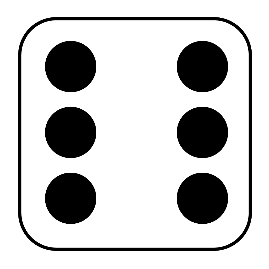 Library Of 6 Dice Number Clip Royalty Free Download