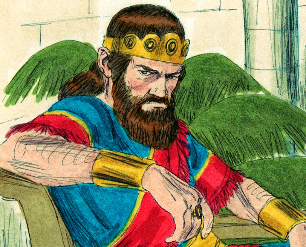 Library Of Angry King Saul Graphic Library Download Black