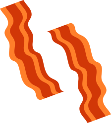 bacon transparent clipart clip clipartmag library
