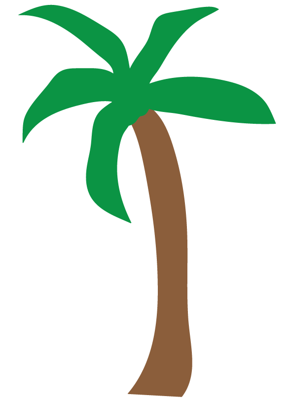 Pom Trees Drawing : trees, drawing, Library, Beach, Black, White, Stock, Files, ▻▻▻, Clipart