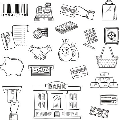 Library of banking services clip art free download png