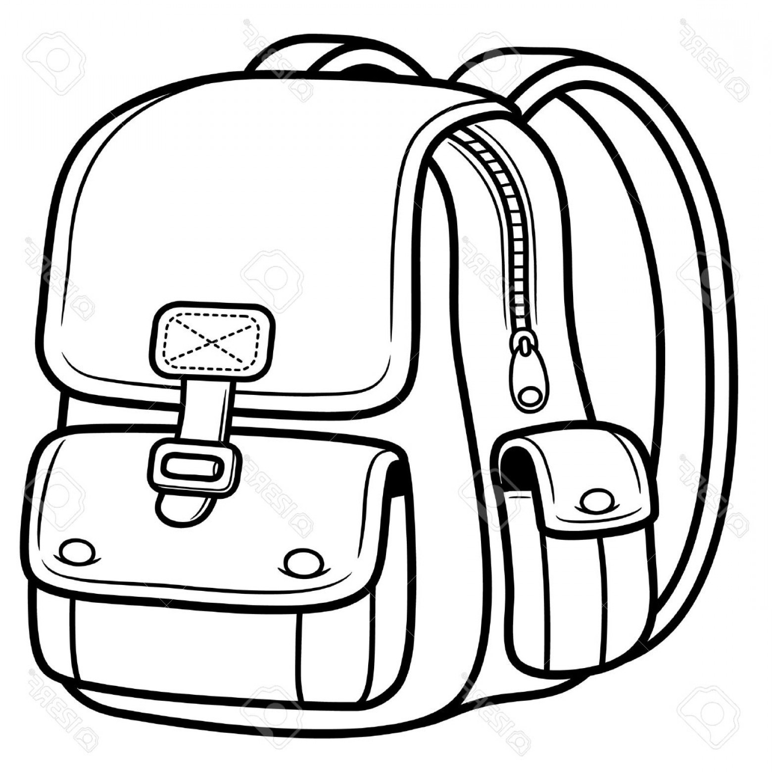 Library Of Black And White Graphic Free Stock An Old Bag