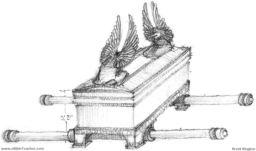 Library of black and white free stock ark of the covenant
