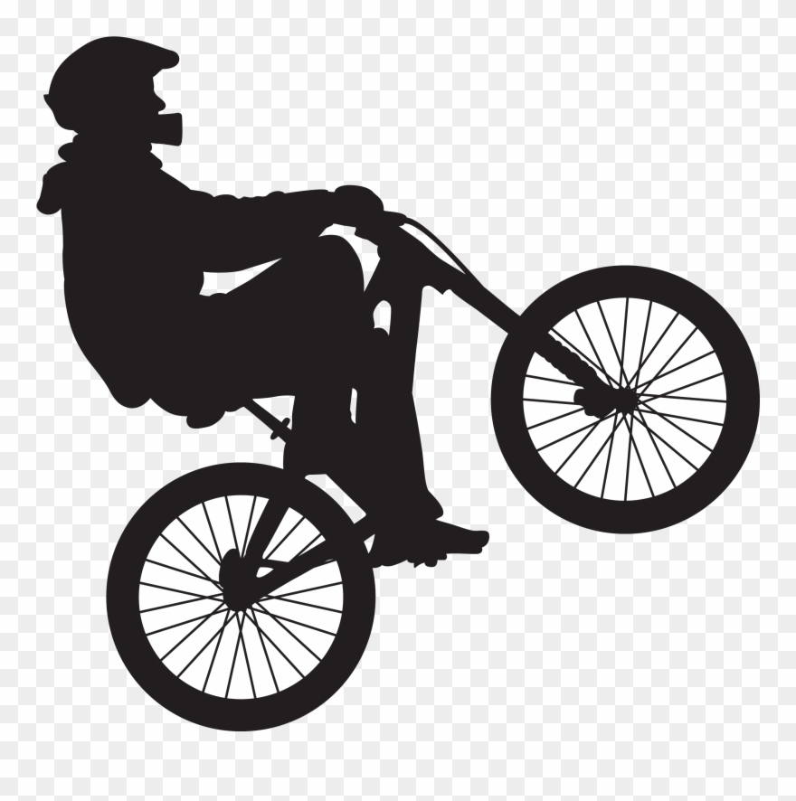 Library of bmx clip art download images png files Clipart