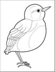 Library of b&w bird clipart black and white stock png