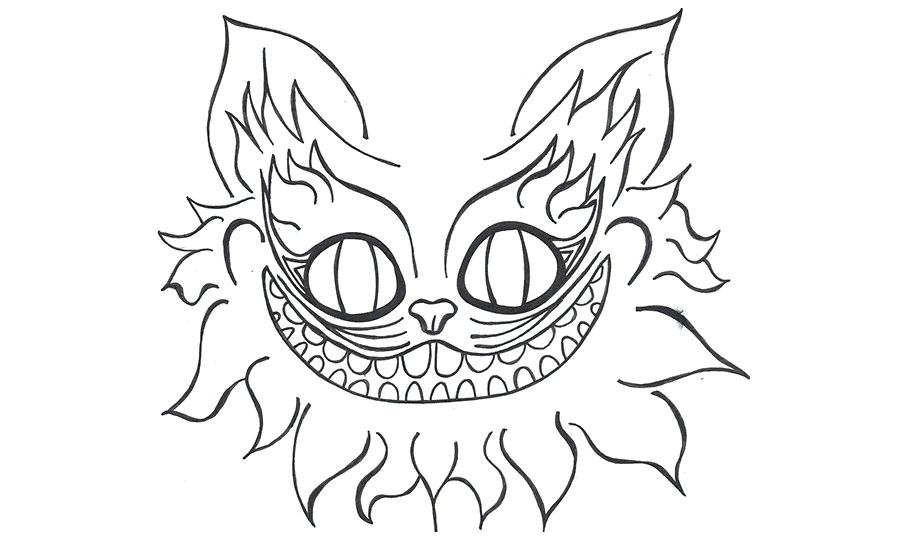 Library of cheshire cat skull png freeuse png files