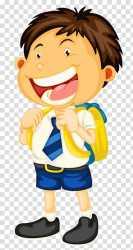 boy student clipart happy uniform transparent child students clip little vector library hiclipart clipartlove cliparts