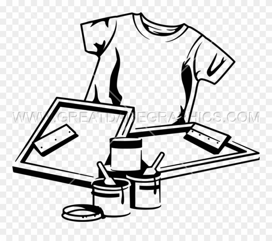 Library of tshirt printing banner freeuse download png