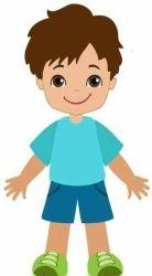 boy clipart kid clip