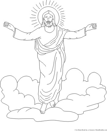 Library of clipart free library jesus ascending into