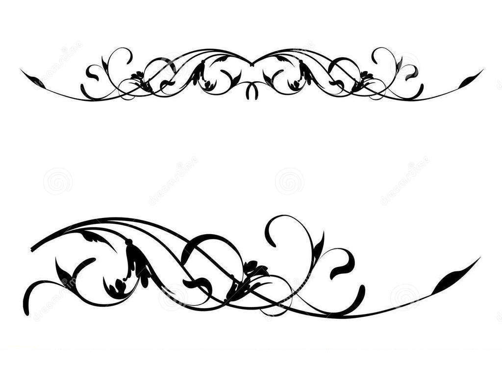 Library Of Free Clip Art Free Scroll Borders Files