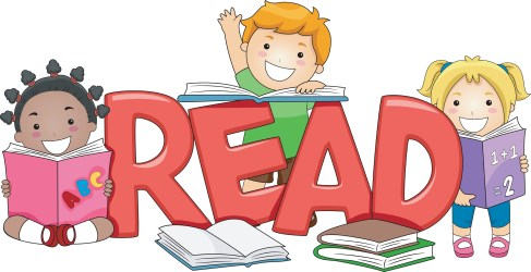 reading clipart student pointer library clipartfest