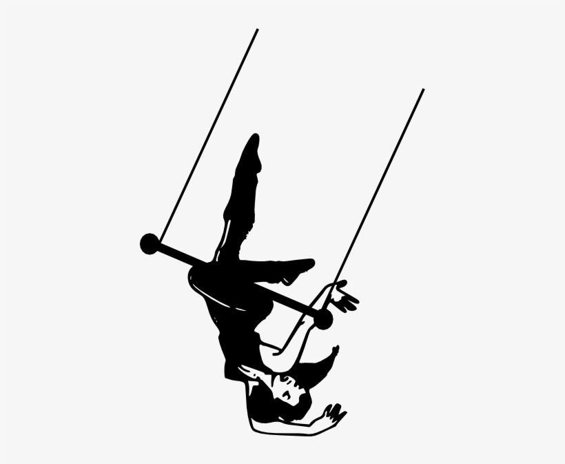 Library of vector black and white trapeze png files