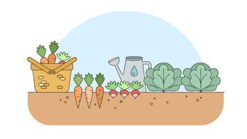 vegetable garden clipart vector vegetables clip svg harta sejengkal karun graphics gardenpicdesign downloads