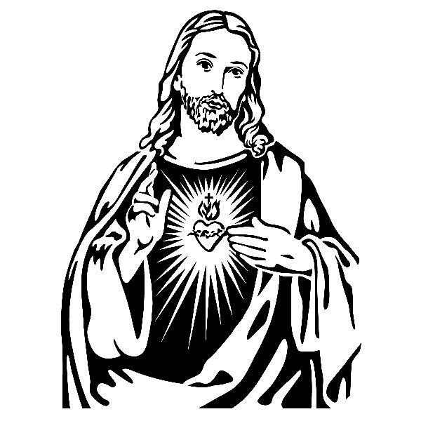 Library of cristo jesus dios religion catolicos svg vector