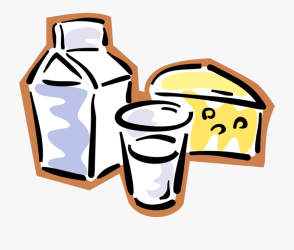 dairy clipart milk fresh cheese vector illustration library