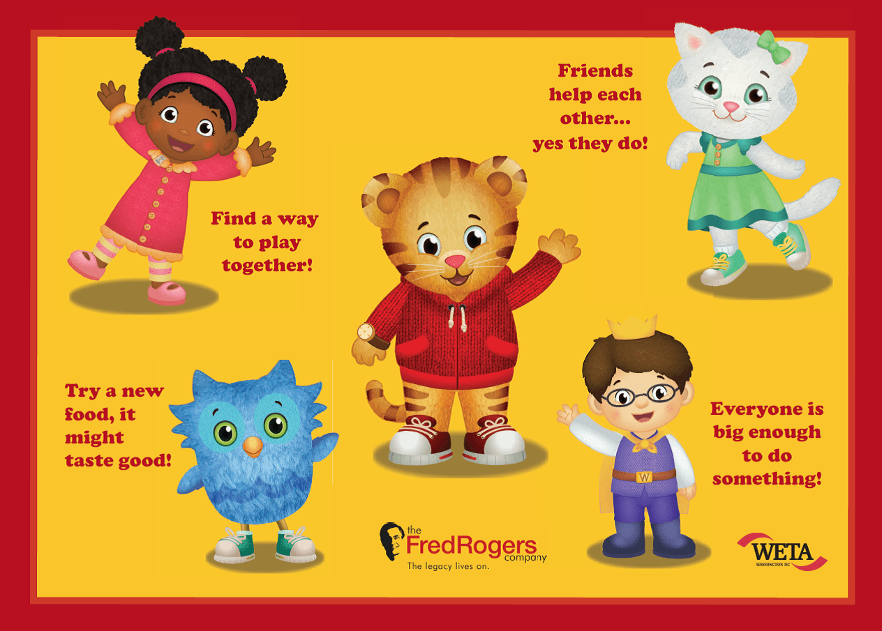 Library Of Daniel Tiger Friends Clipart Freeuse Library