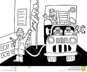 fire clipart dalmatian department engine dalmation clip dog cdr vector truck