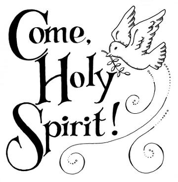 Library of gifts of holy spirit svg royalty free black and