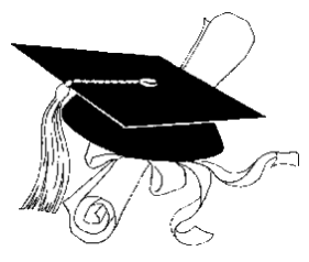 Library of graduation information enclosed jpg stock png