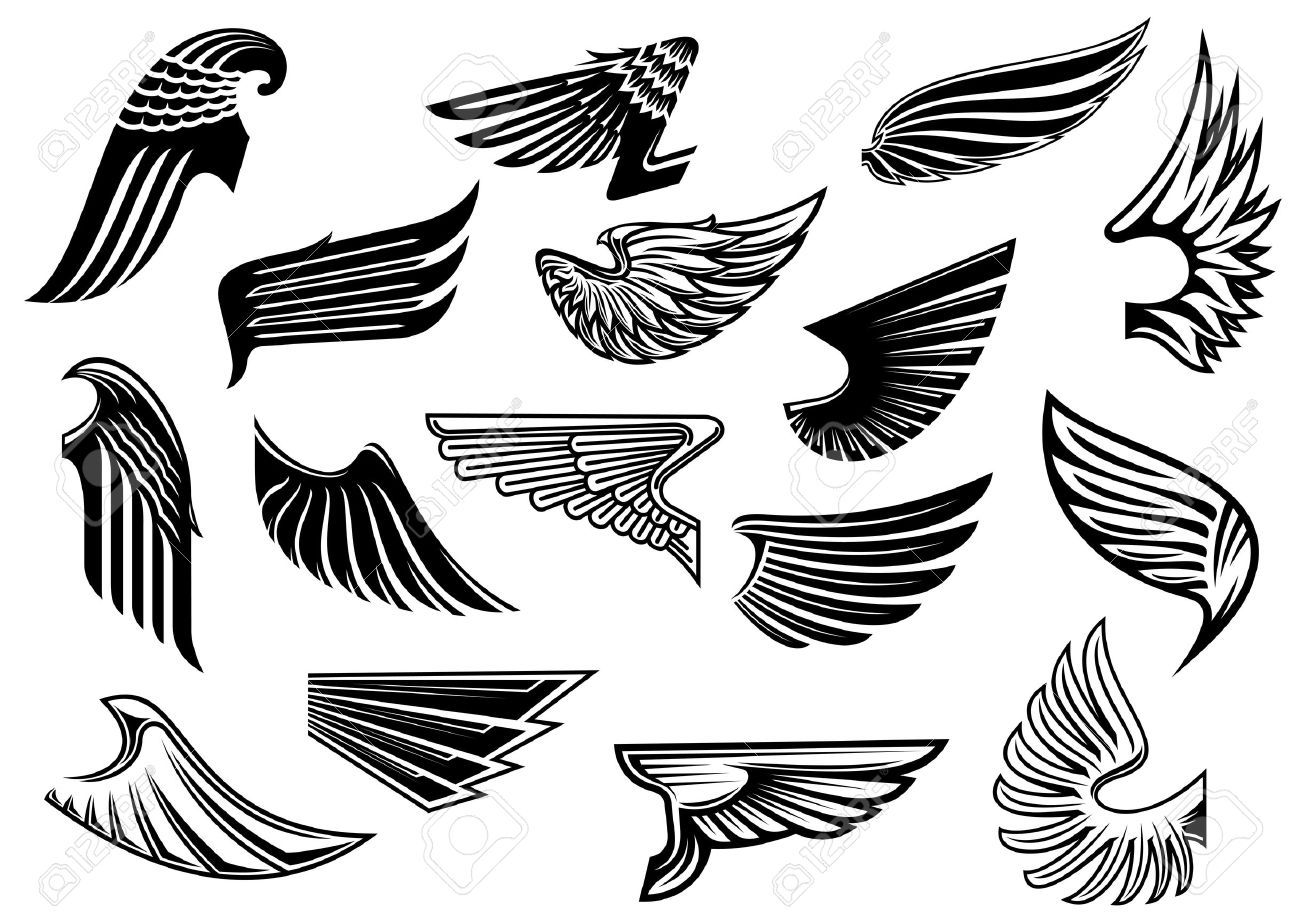 Library Of Wings Logo Transparent Download Files