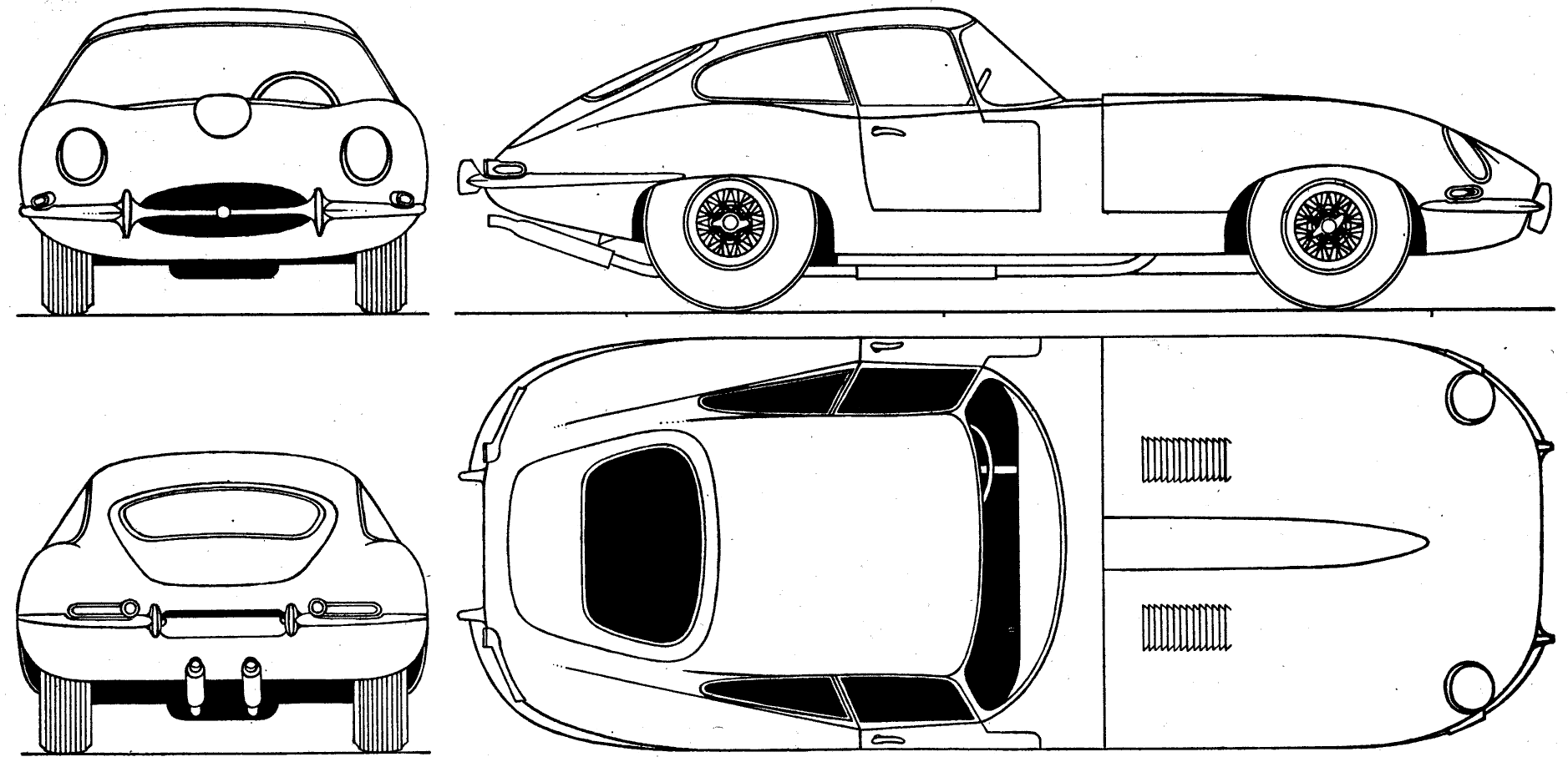 Library Of Jaguar E Type Graphic Freeuse Stock Files