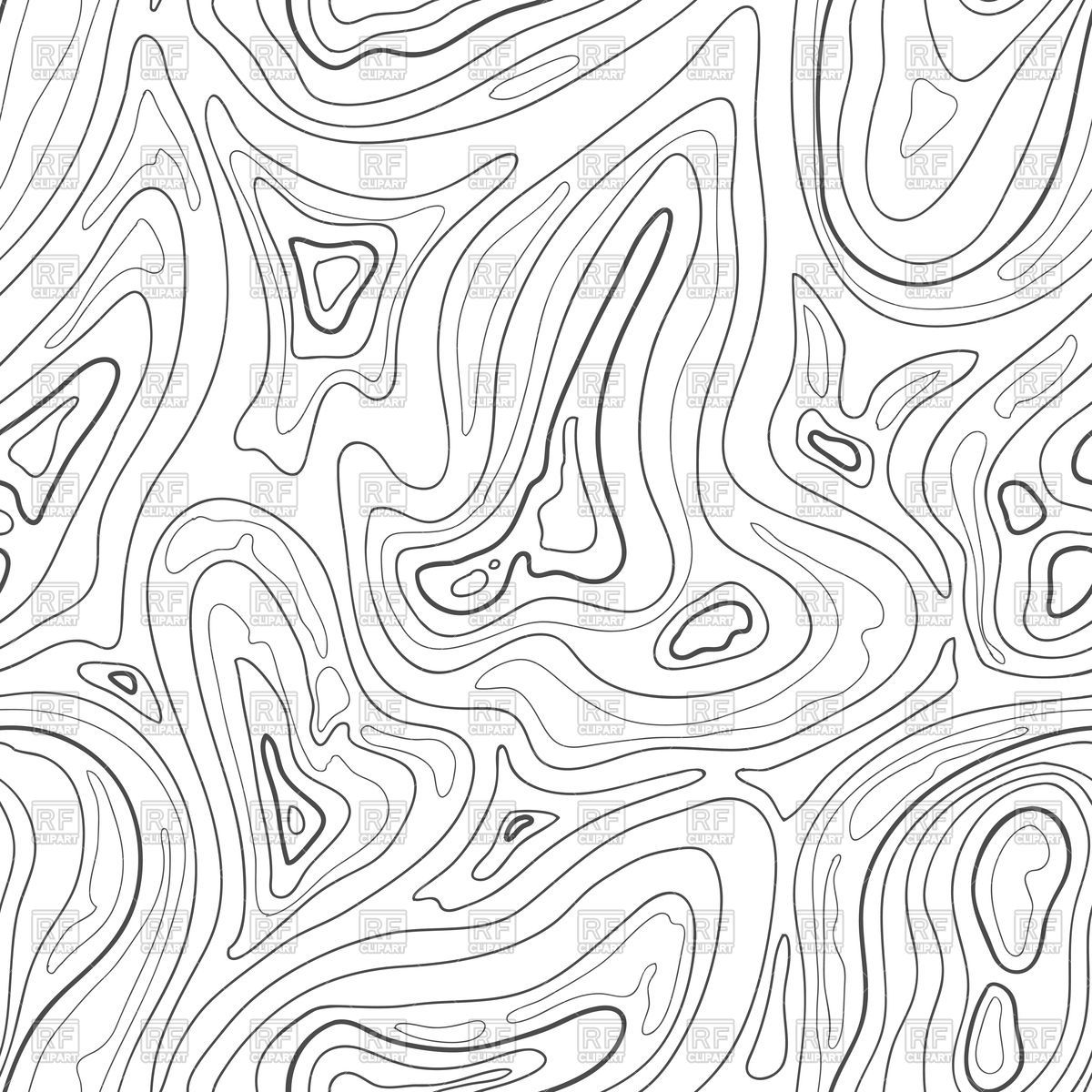 Library Of Topographical Picture Transparent Download