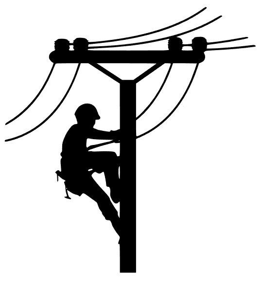 Library of lineman clip art library download electrical