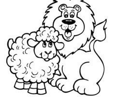 Library of march lion and lamb graphic transparent