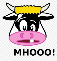 clipart milk allergy cow pinclipart
