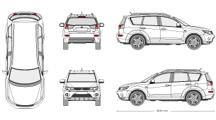 Library of mitsubishi outlander clip freeuse png files