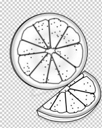 orange clipart slice