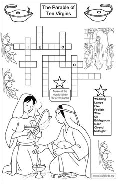 Library of parable of the ten virgins oil lamp clipart