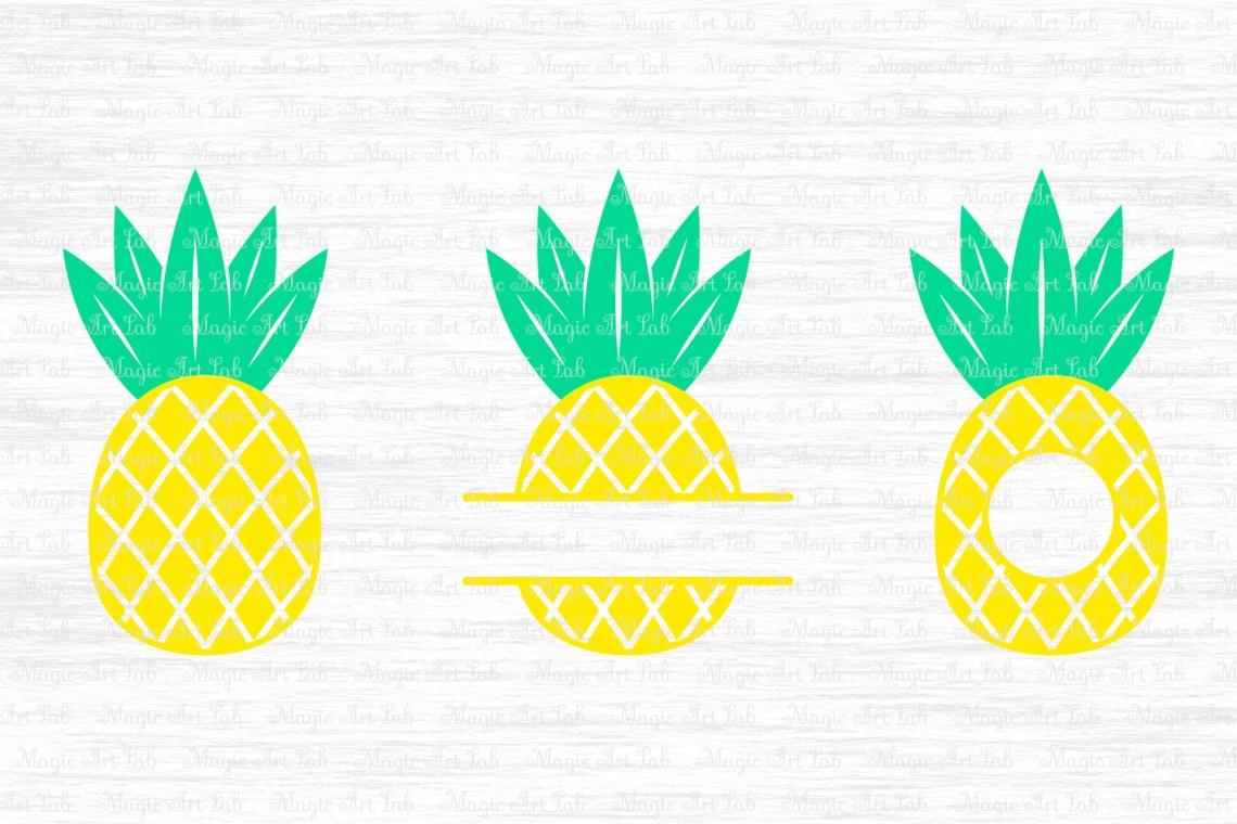 Download Library of pineapple monogram jpg transparent png files ...