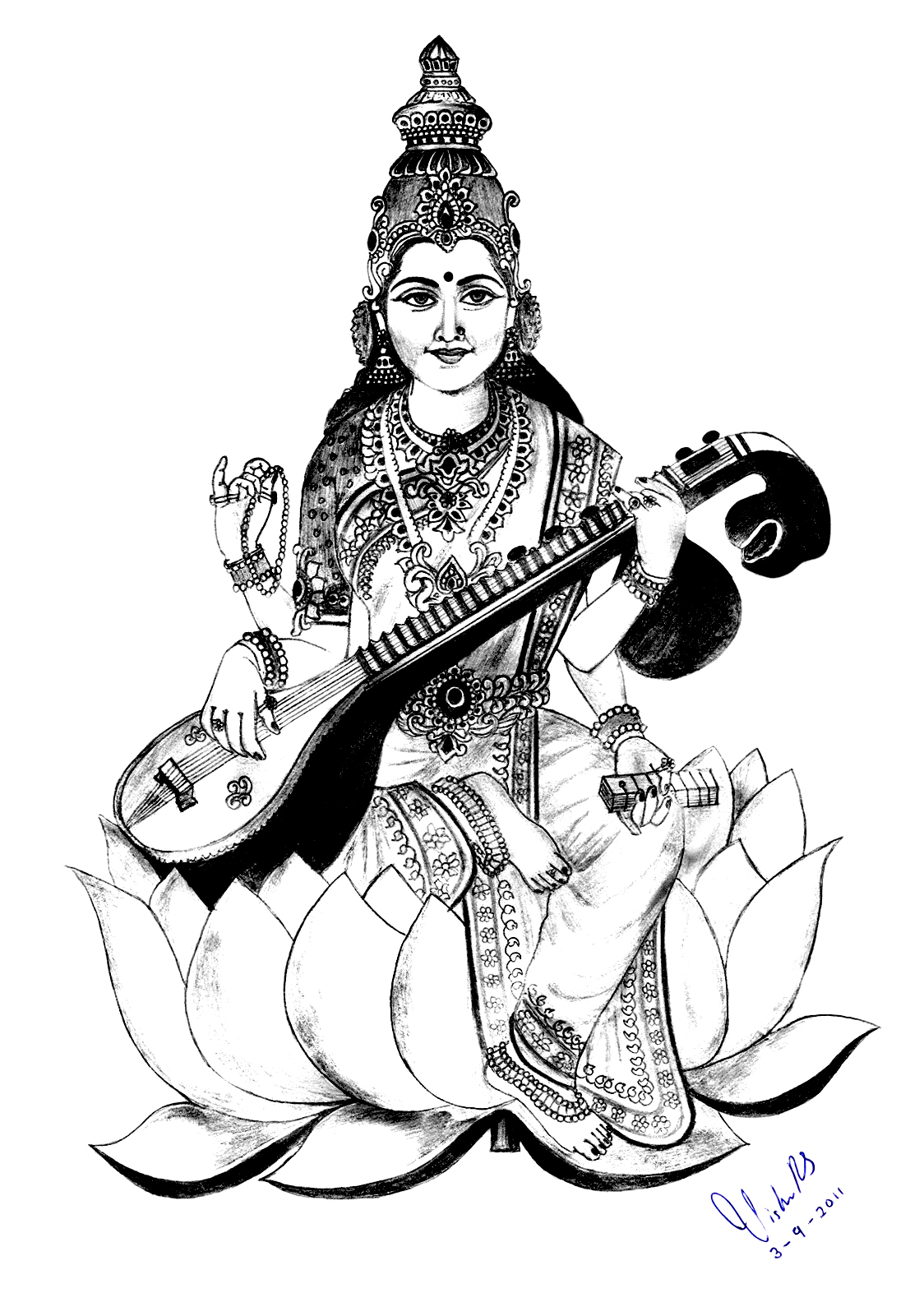Library Of Saraswati Clipart Freeuse Files Clipart Art