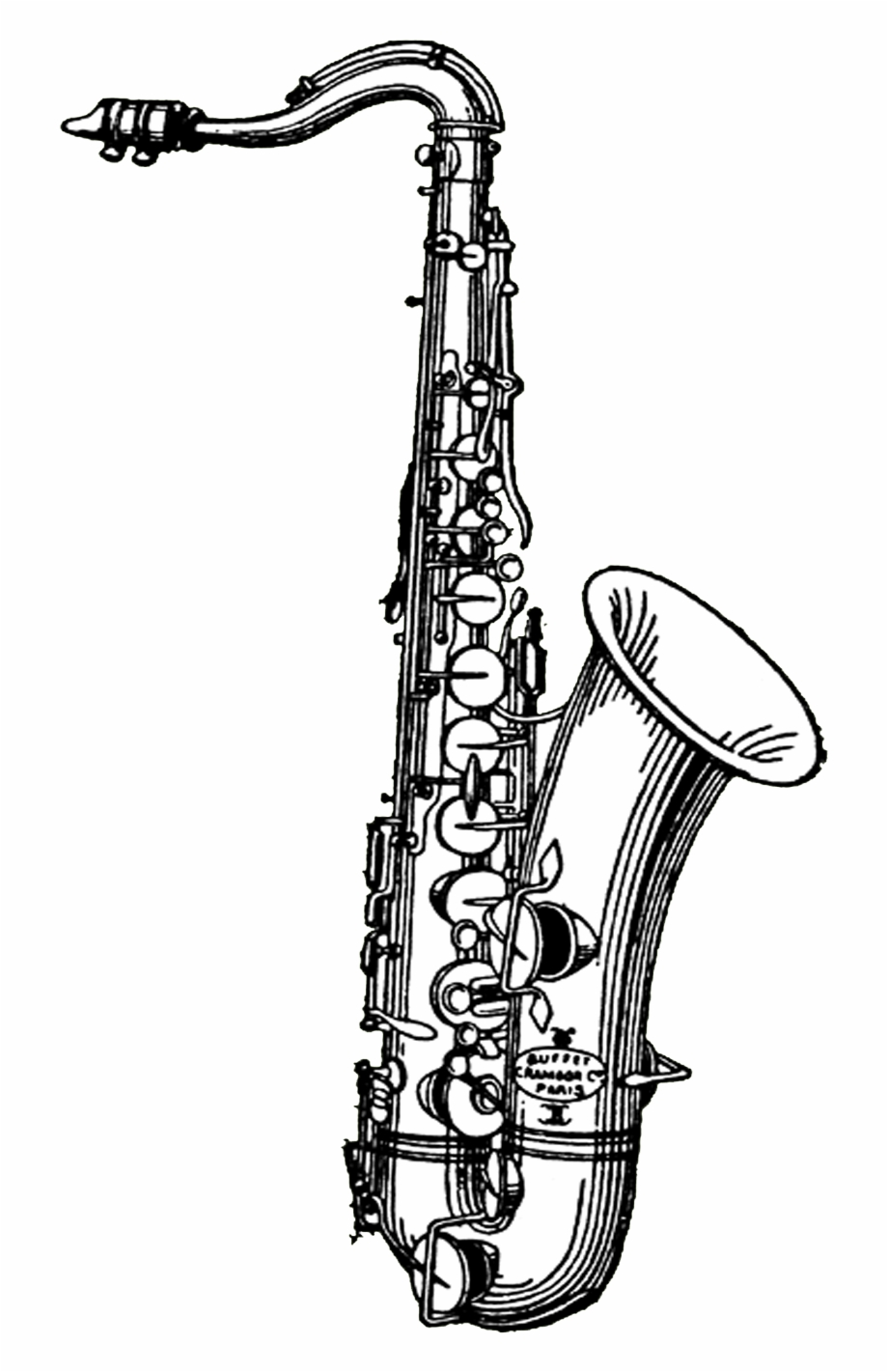 Library of saxophone picture royalty free stock png png