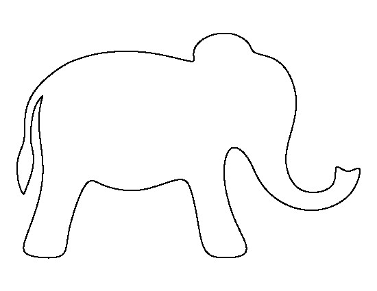 Library of simple elephant stock png files Clipart Art 2019