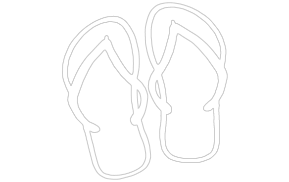 Library of simple flip flop royalty free download png