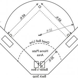 Library of softball diamond jpg 10 positions lineup png